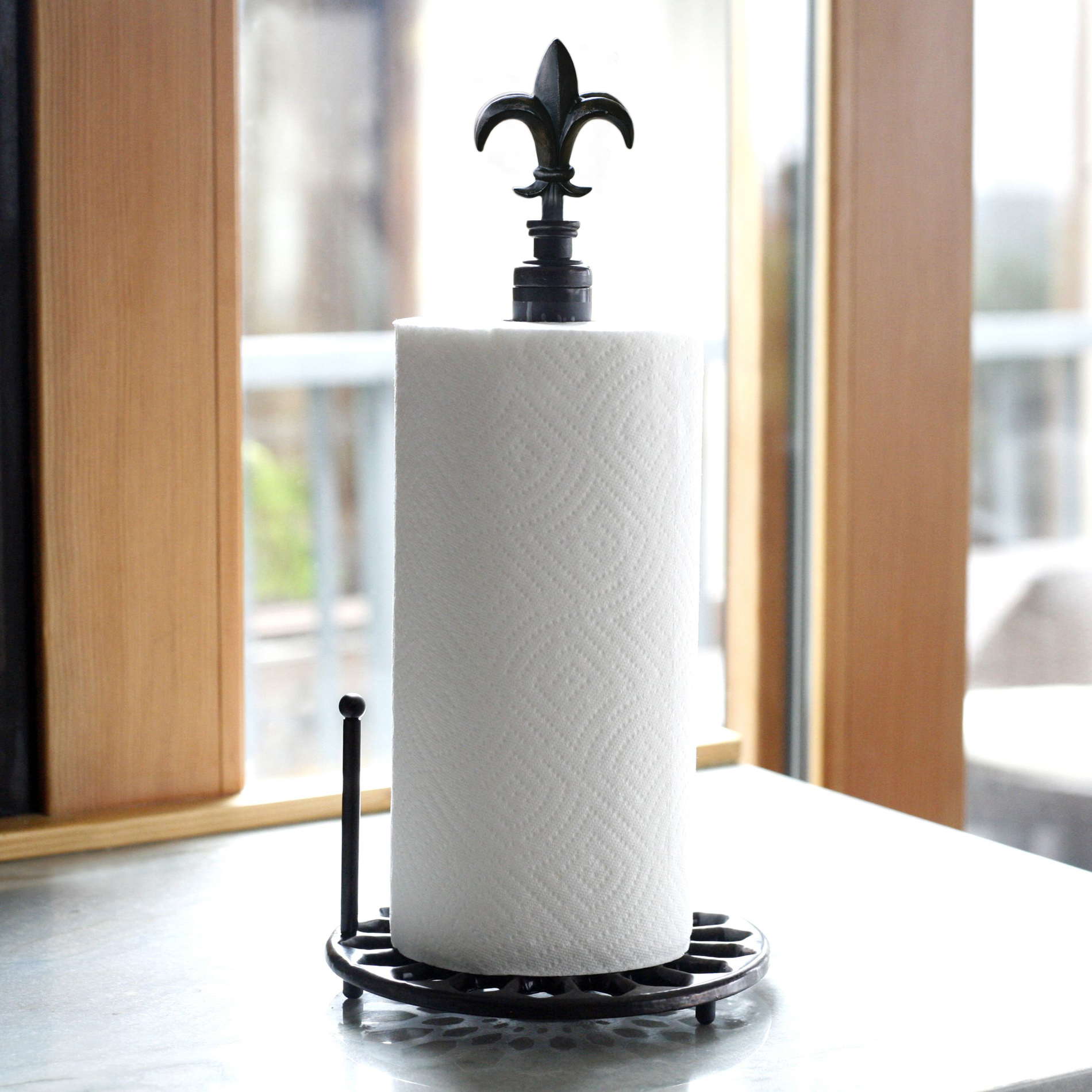 Paper Towel Holder Kmart Fleur De Lis Collection Paper Towel Holder
