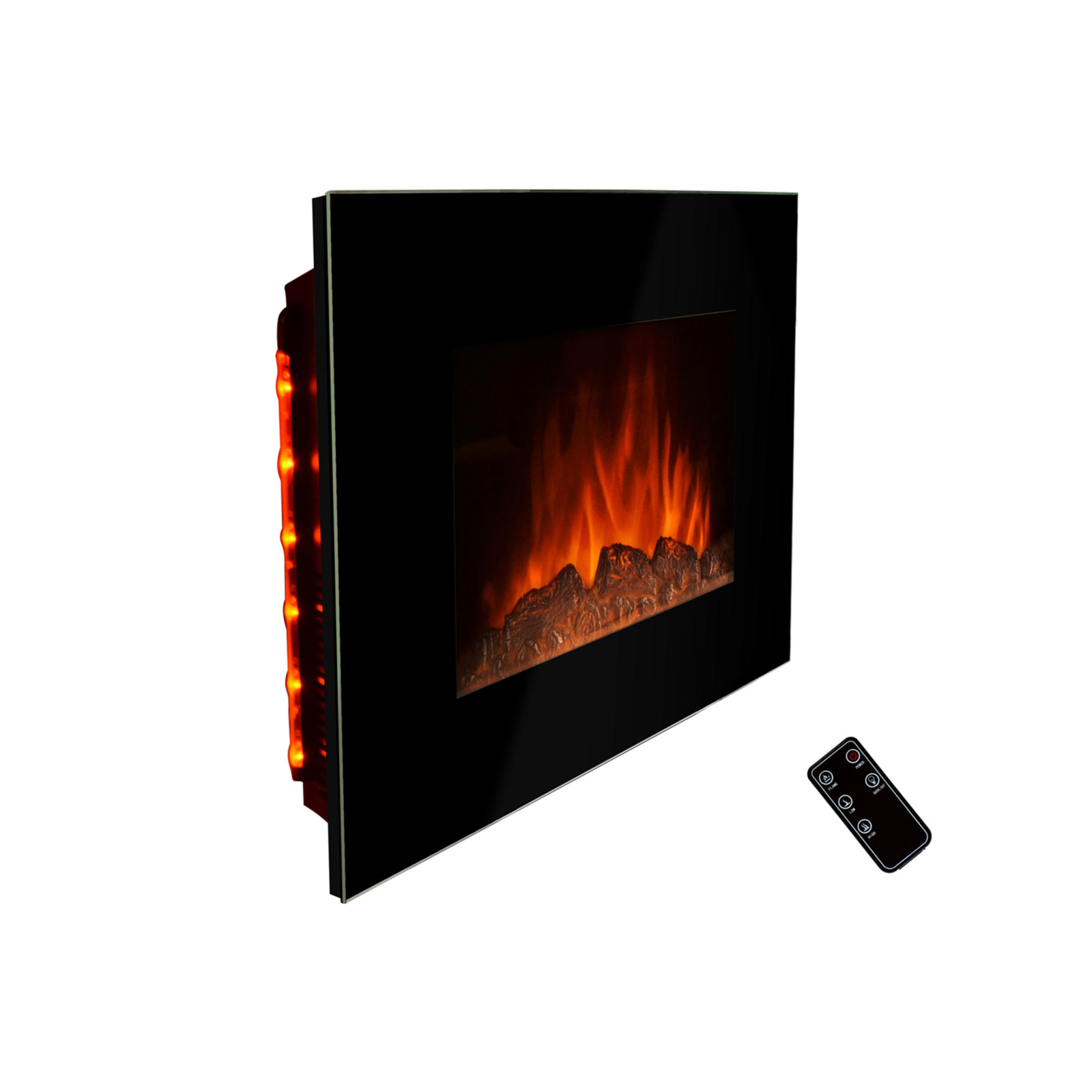 Wall Mount Fireplace Heaters Golden Vantage 36