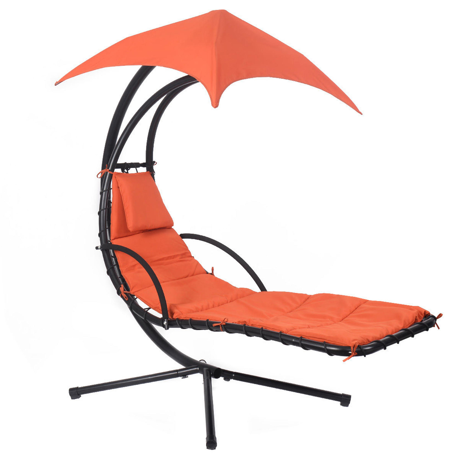Pool Chaise Lounge Chairs Goplus Metal Hanging Patio Chaise Lounge Chair Sears Marketplace