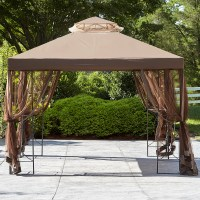 Essential Garden Replacement Canopy For 10X10 Callaway Gazebo