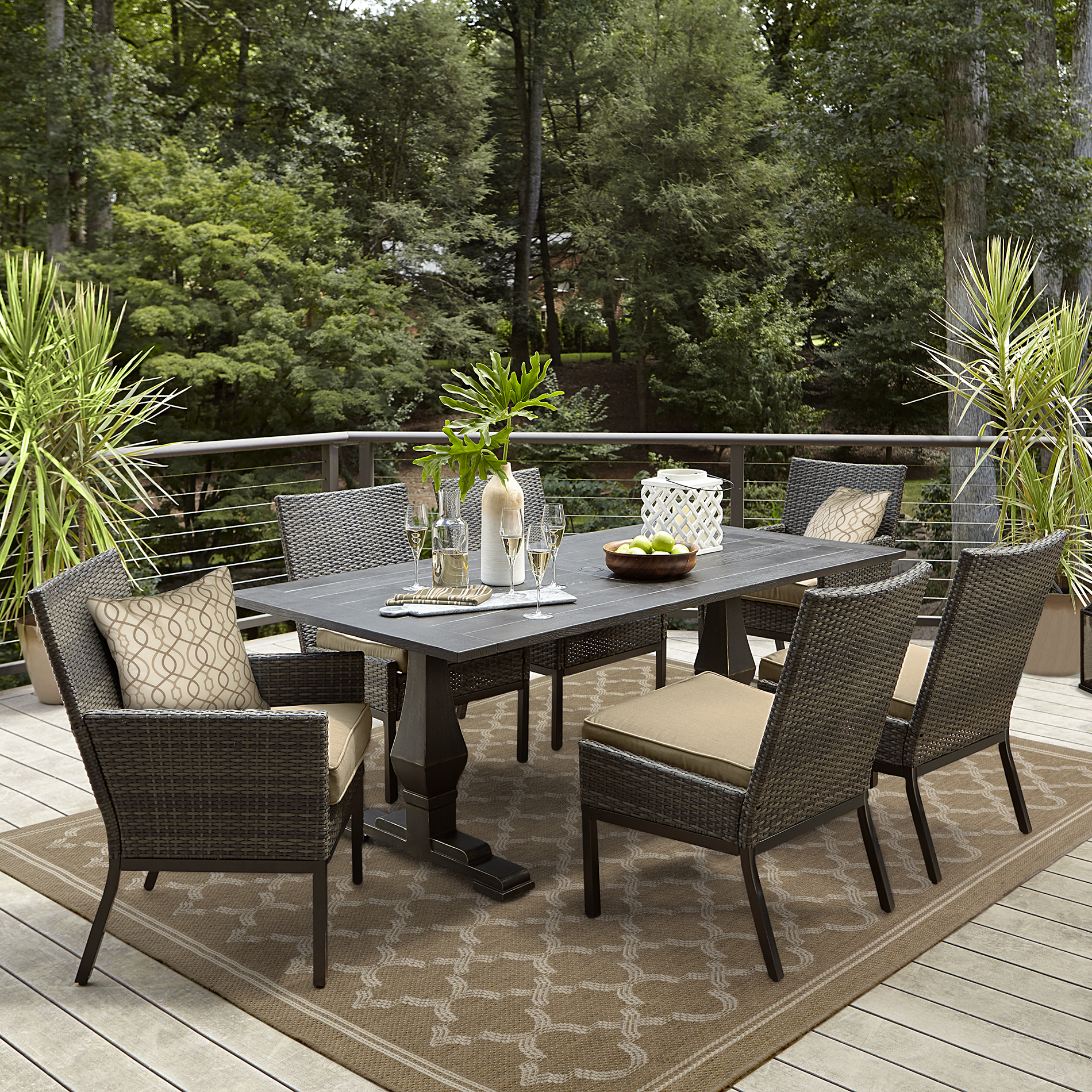 Outdoor Dining Grand Resort Monterey Outdoor Dining Table