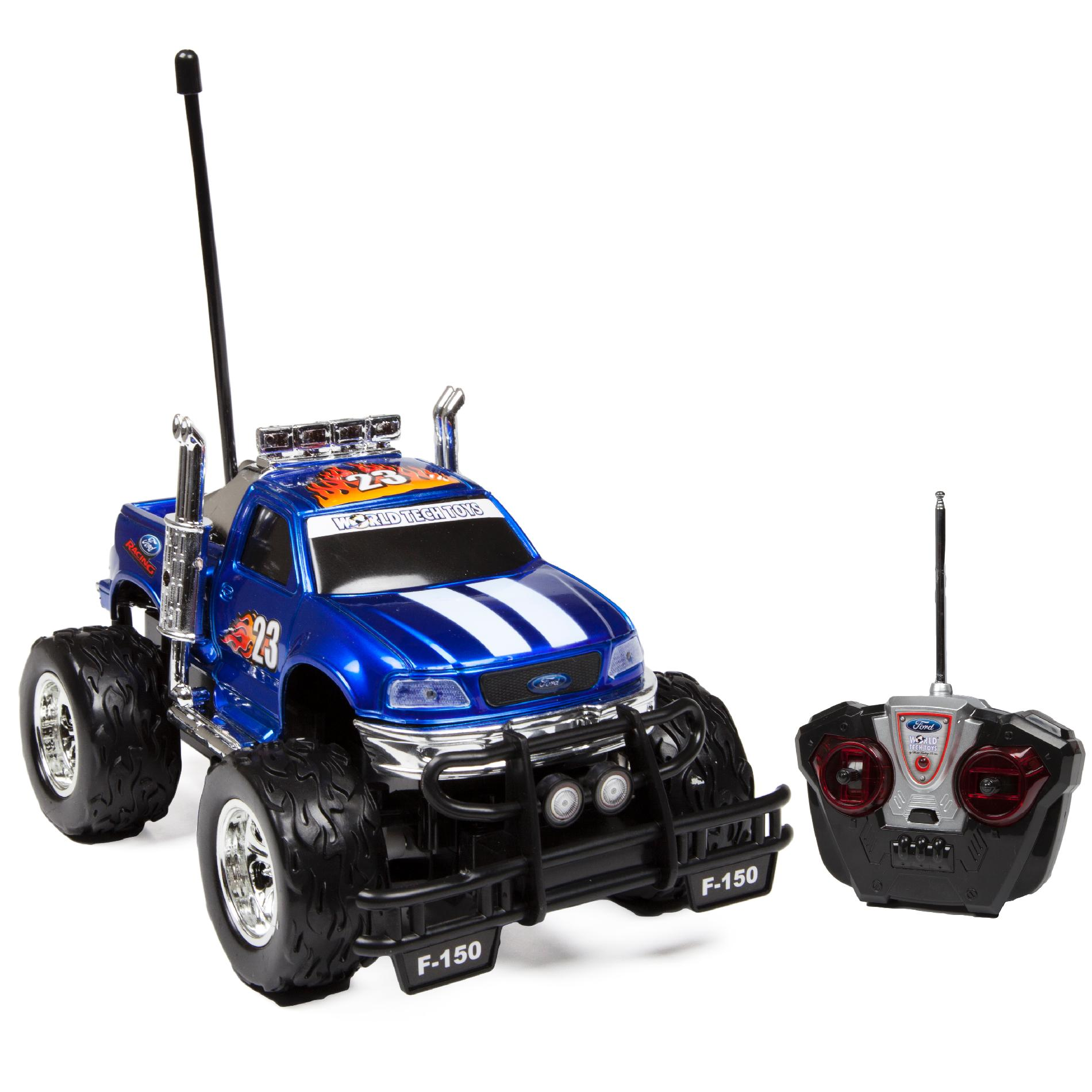 World Tech Toys 1 18 Licensed Ford F 150 Remote Control Truck