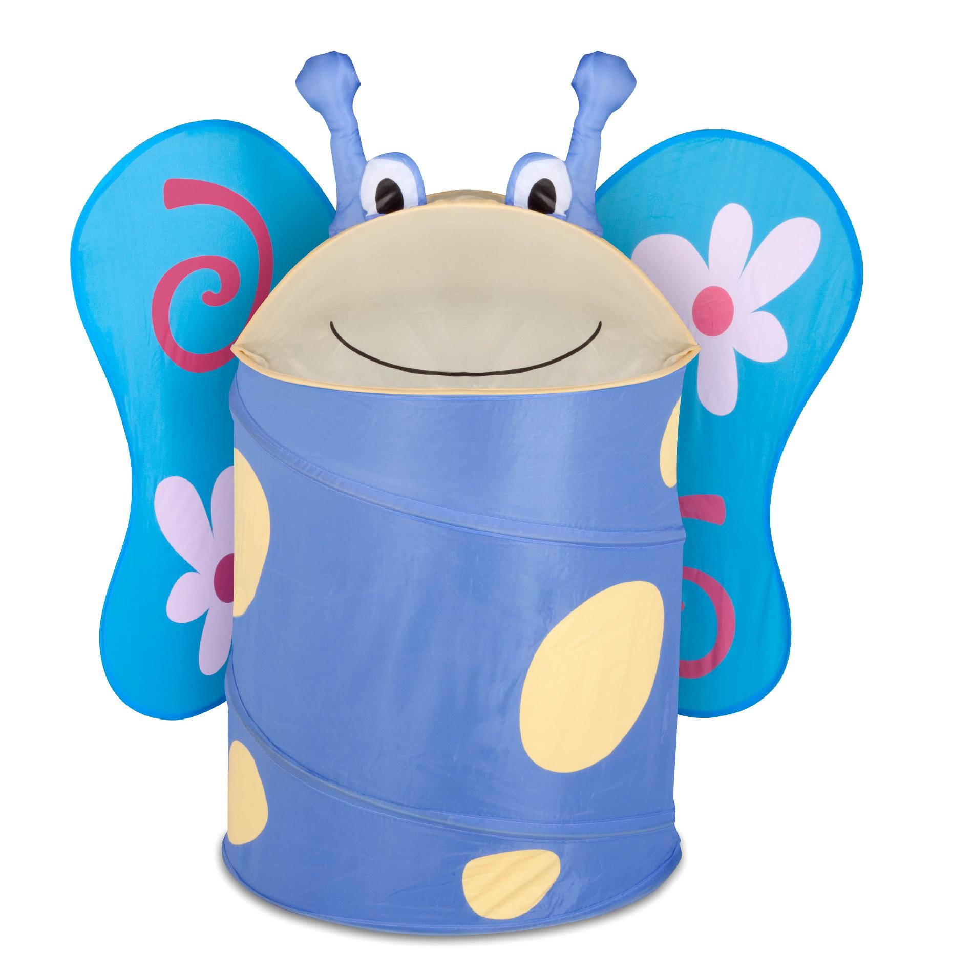 Kids Clothes Hamper Honey Can Do Large Kids Pop Up Hamper Butterfly