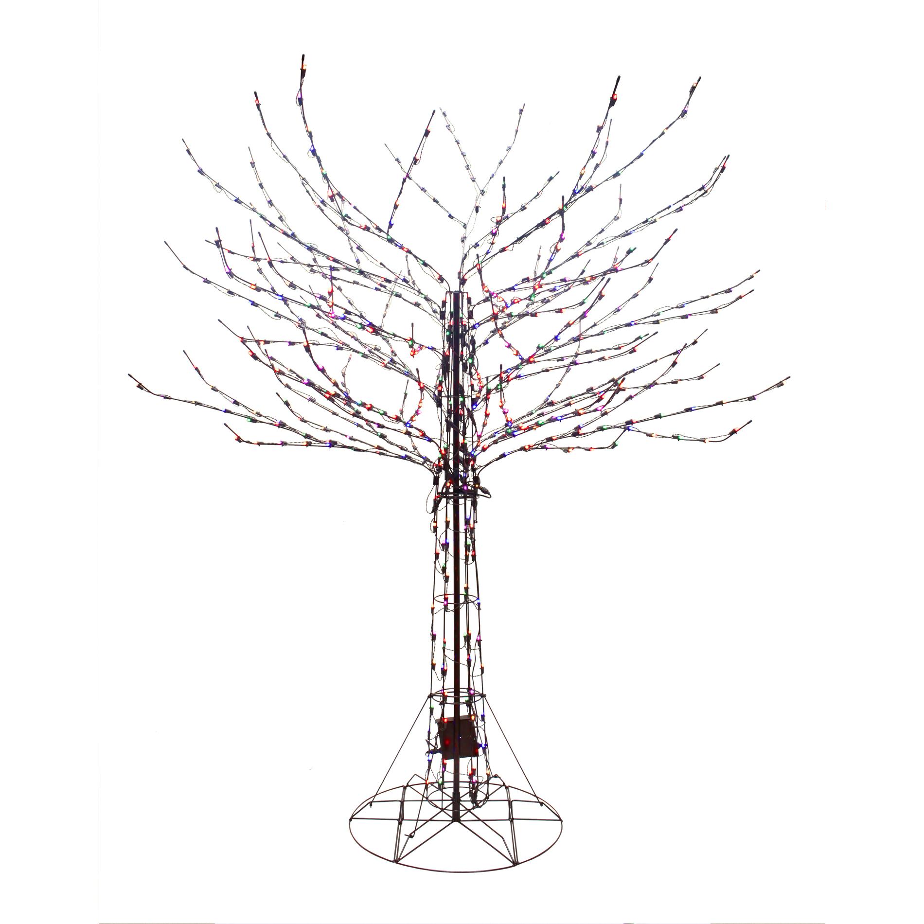 8 function christmas lamp