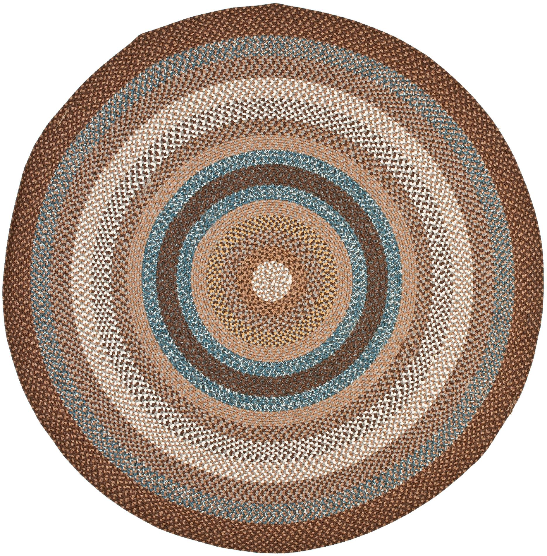 Round Rug Kmart Safavieh Braided Hand Woven Reversible Area Rug Brd313