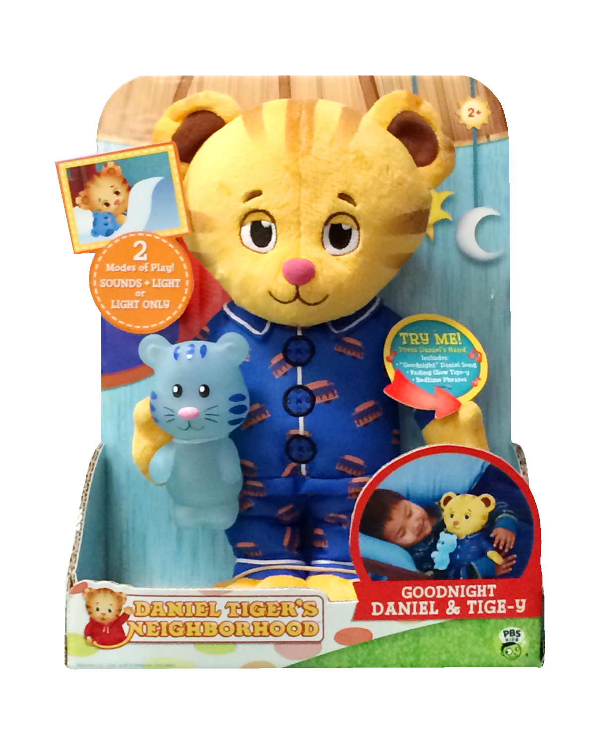 Glow Toys For Bedtime Pbs Kids Daniel Tiger 39s Neighborhood Musical Goodnight