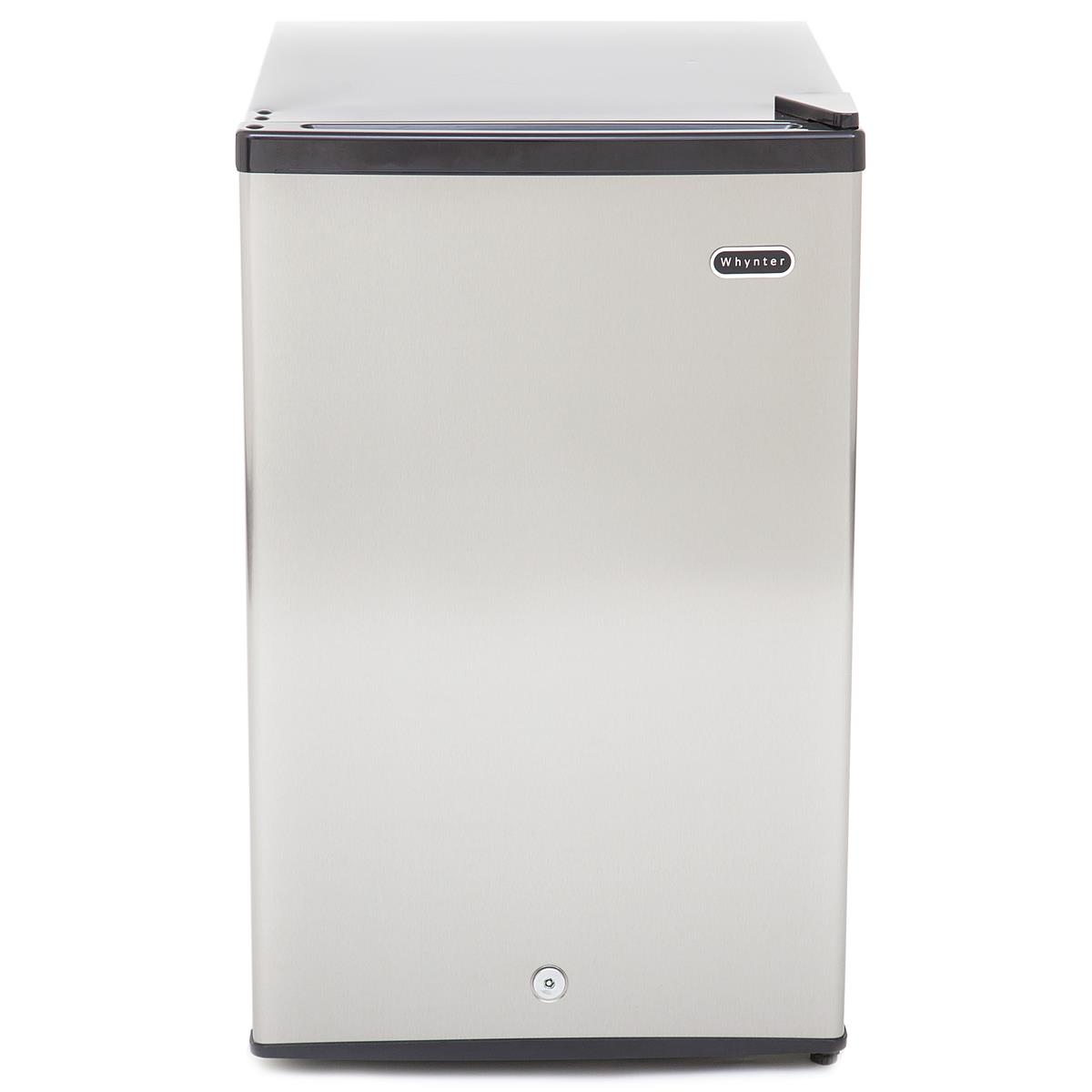 Kmart Freezer Whynter Cuf 210ss 2 1 Cu Ft Energy Star Stainless Steel