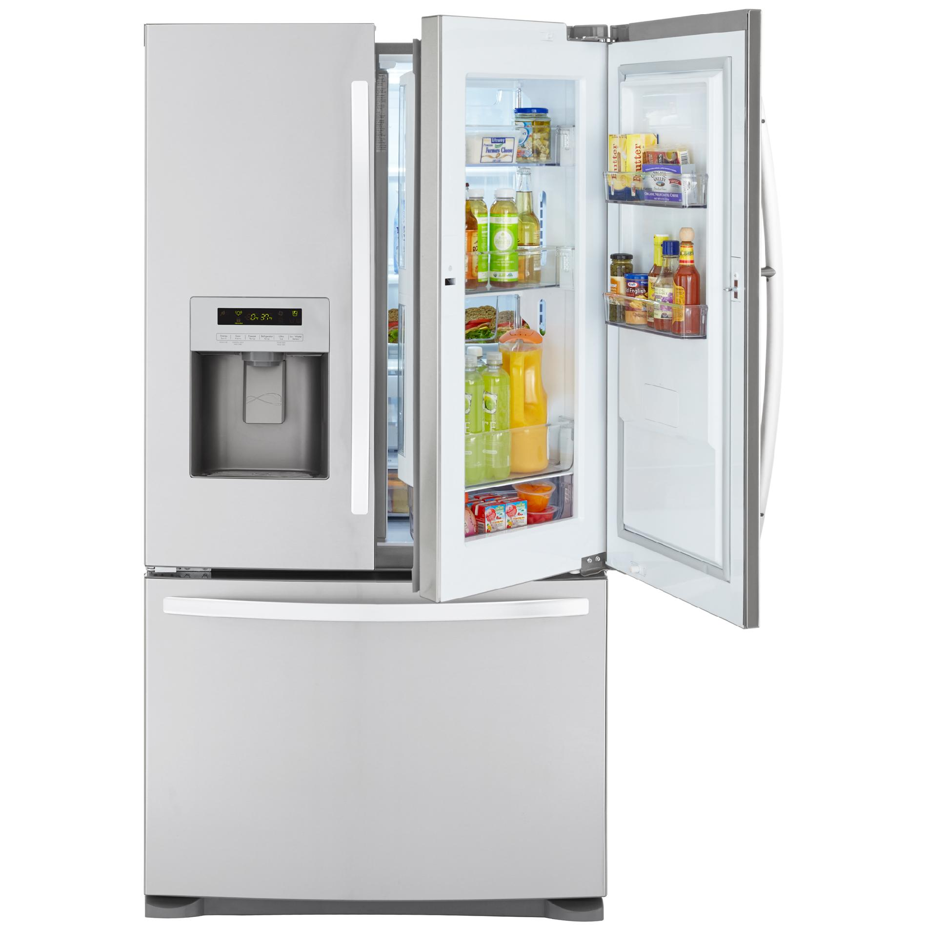 Kmart Freezer Kenmore French Door Bottom Freezer Refrigerator Kmart