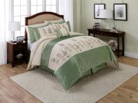 Jaclyn Smith 6-Piece Growing Garden Comforter Set - Floral ...