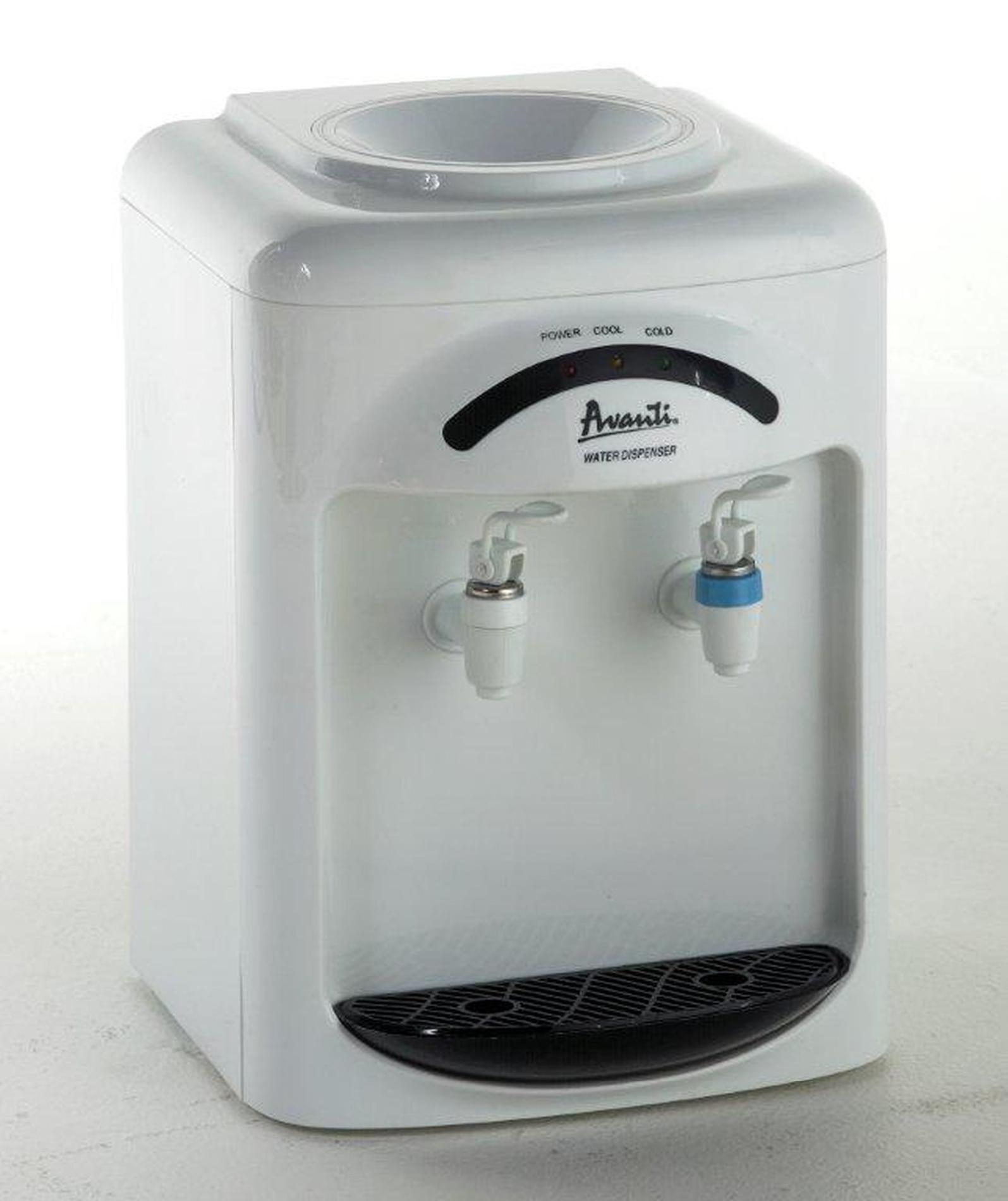Avanti Countertop Dishwasher Avanti Cold And Room Temperature Countertop Water Dispenser