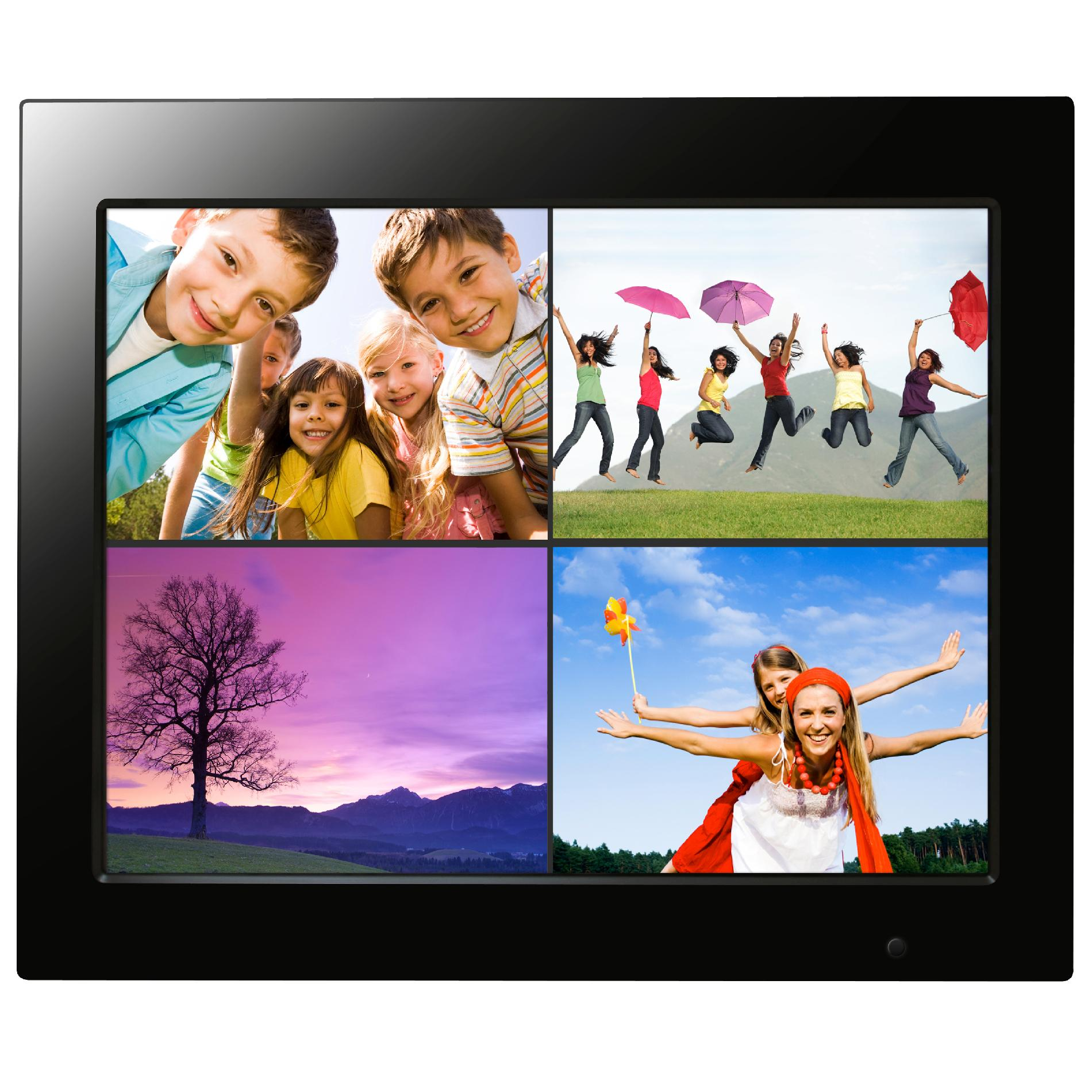 Kmart Digital Photo Frame Filemate 3fmpf215bk15 R Joy Series 15 Quot Digital Photo