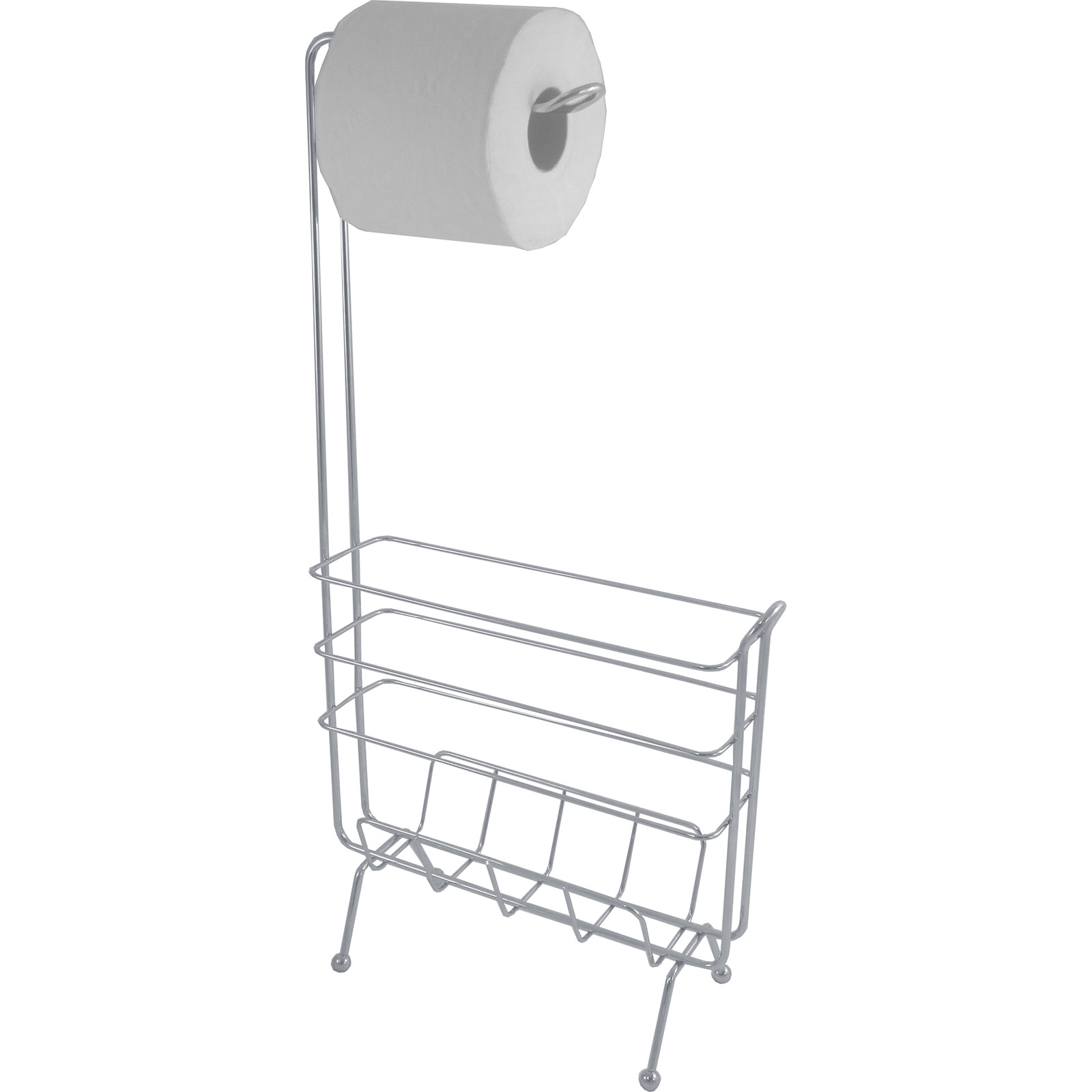 Toilet Paper Holder Rack Exquisite Slim Profile Toilet Paper Holder With Magazine