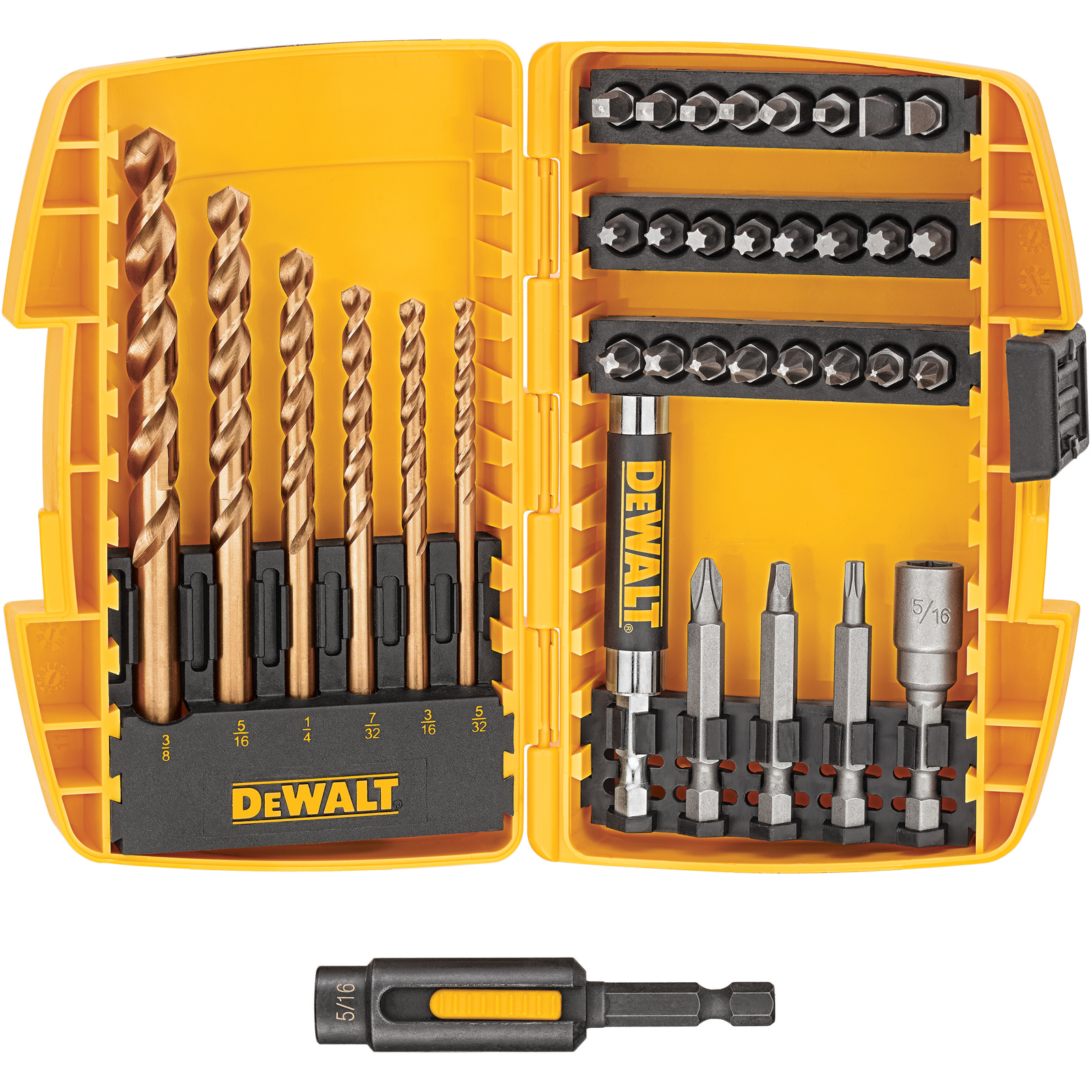 Drill Driver Set Dewalt 36 Piece Drill Driver Set Shop Your Way Online