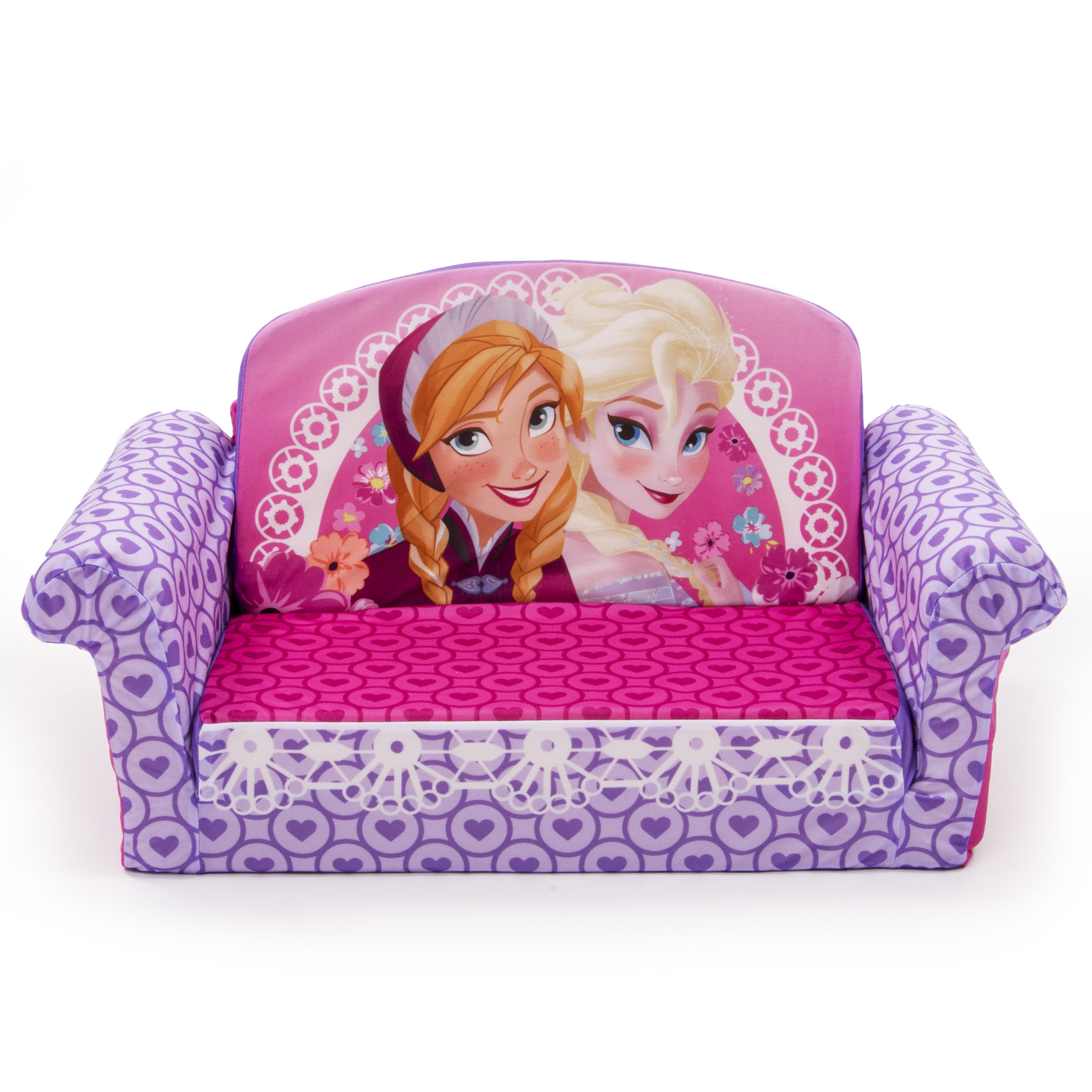 Canapé Dépliable Marshmallow Fun Co Children 39s 2 In 1 Flip Open Sofa