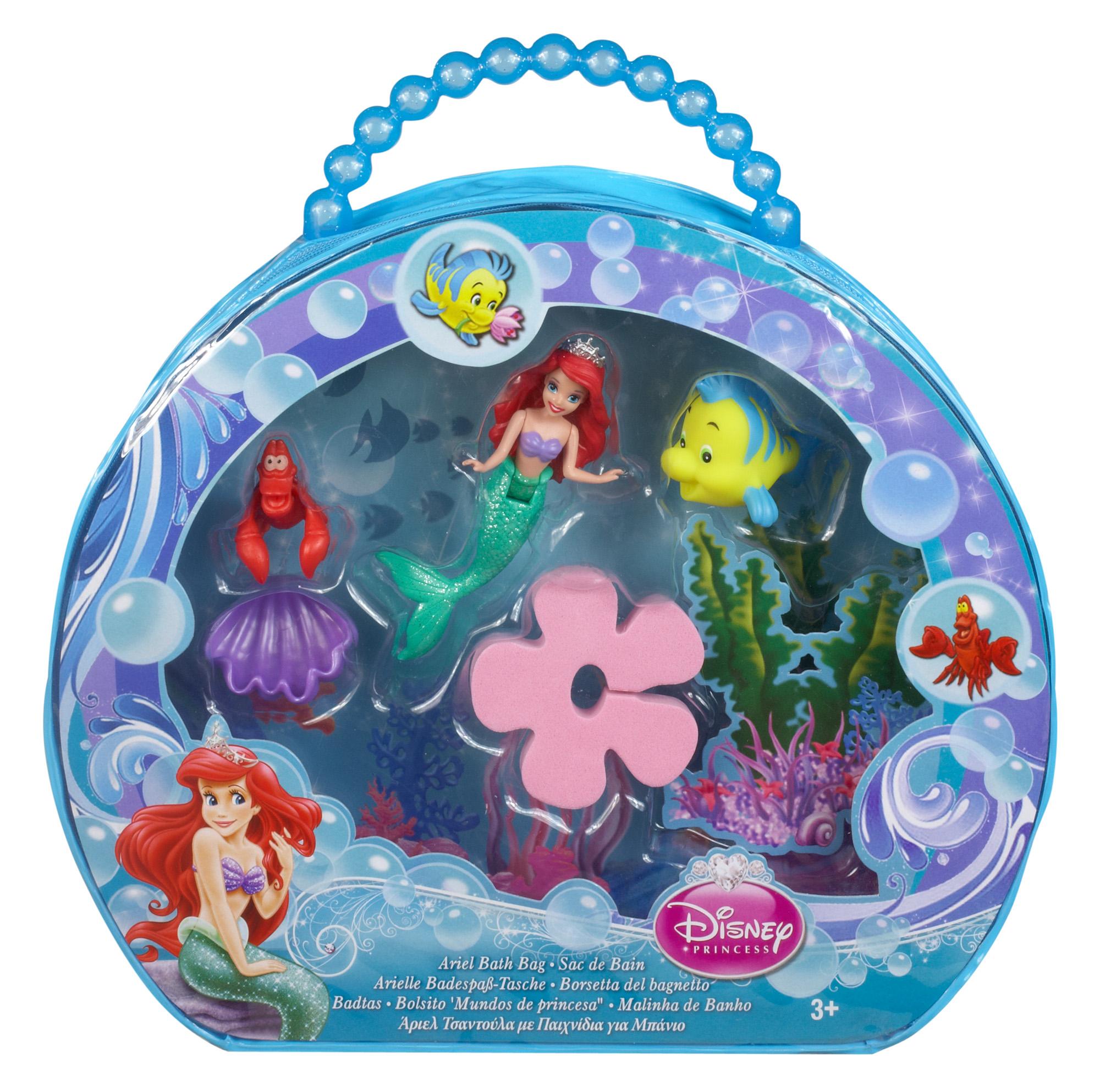 Disney Princess Bath Bag Ariel Toys Games Dolls