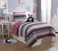 Furry Friends Panda 3-piece Quilt Set