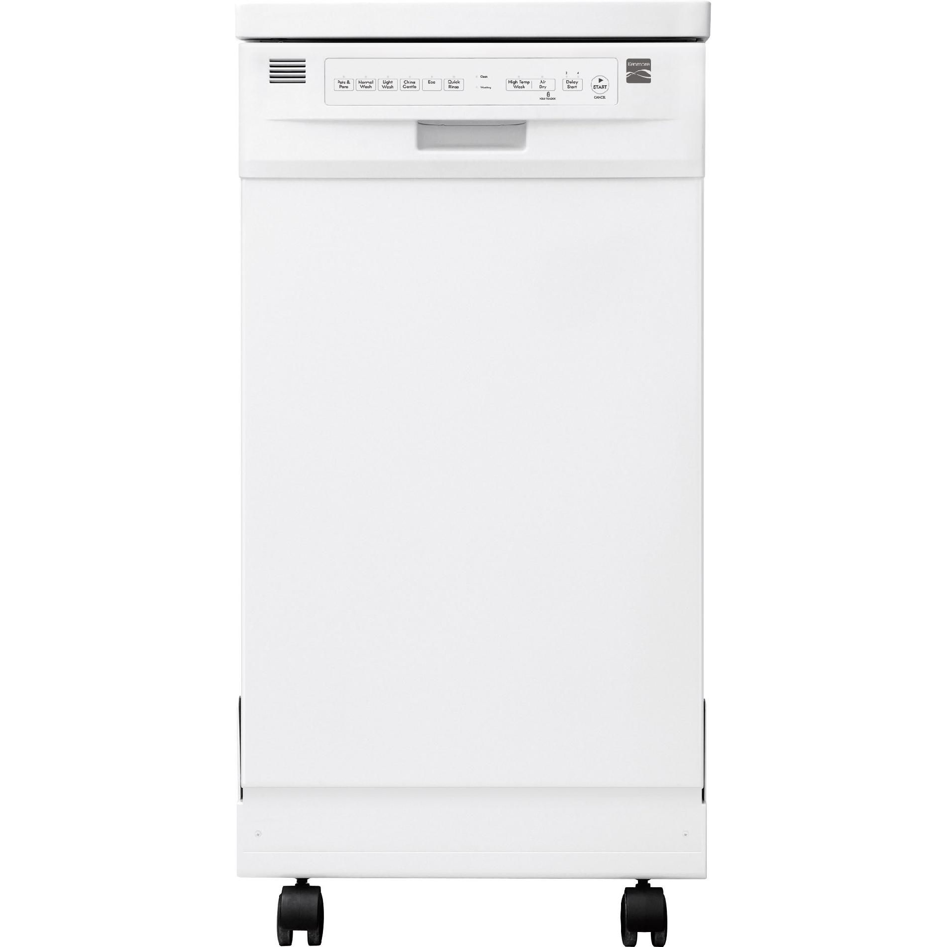 18 Portable Dishwasher Canada Kenmore 14652 18