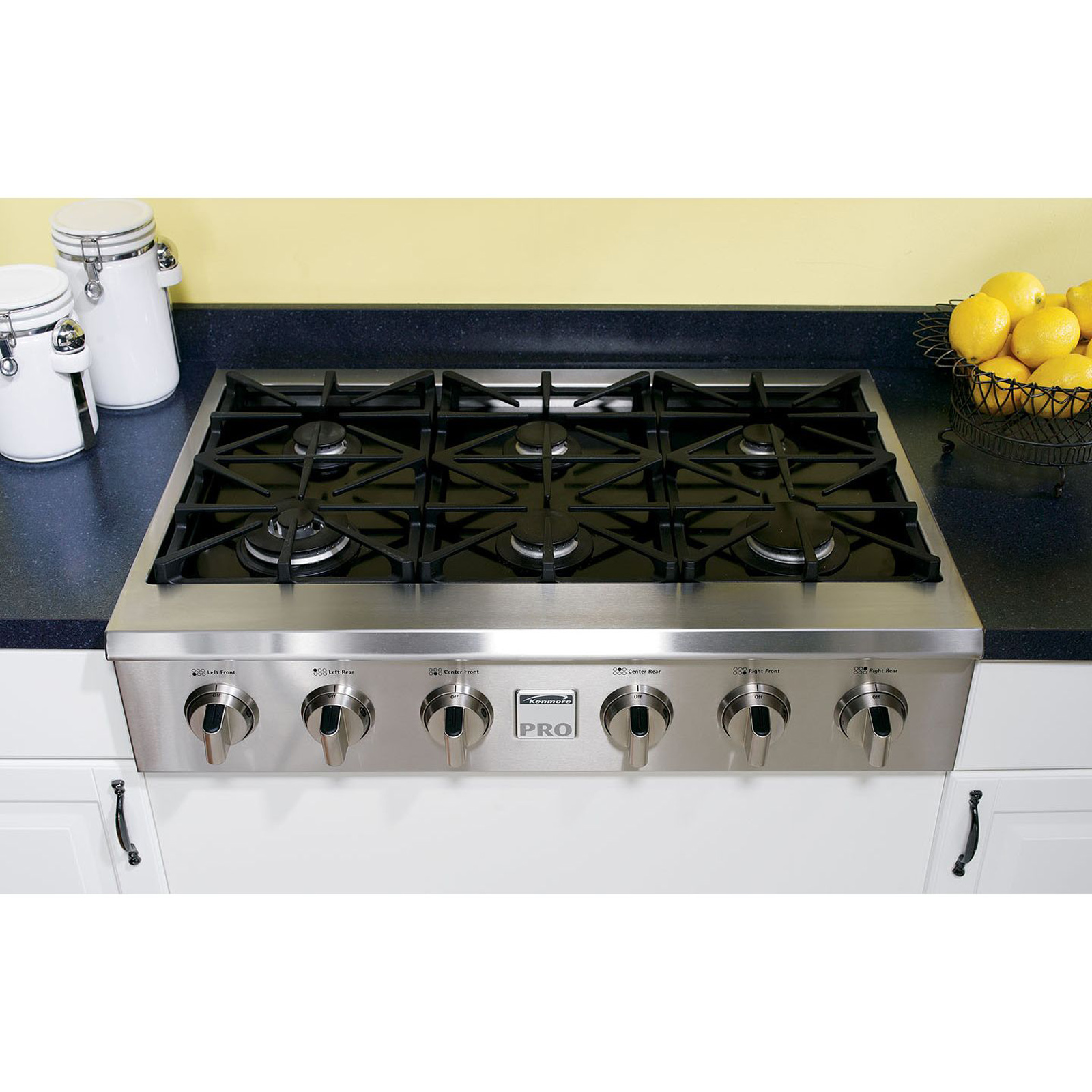 Gas Cooktop Installation Kenmore Pro 30503 36 Quot Slide In Ceramic Glass Gas Cooktop