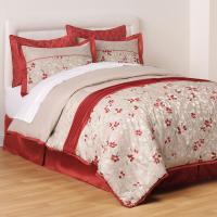 Jaclyn Smith Krista 6-Piece Comforter Set - Floral | Shop ...