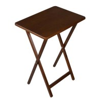 Folding Wooden TV Tray Table