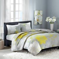 Essential Home 3-Piece Quilt Set - Floral
