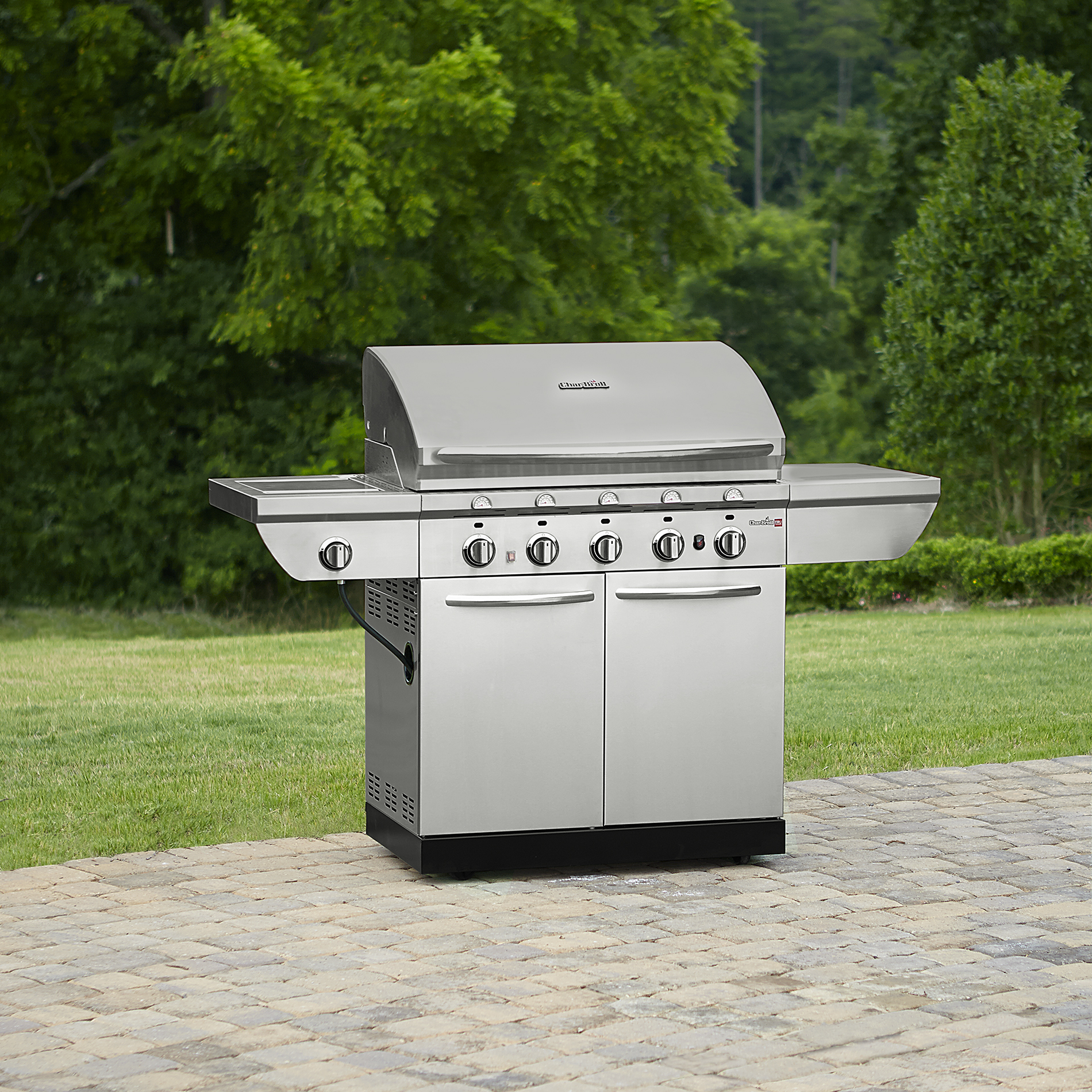 Broil Gasgrill Char Broil 5 Burner Infrared Gas Grill