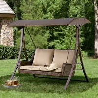 Ty Pennington Style Parkside Resin Wicker Swing - Limited ...
