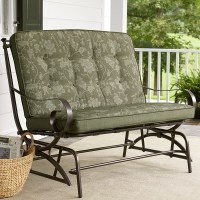 Jaclyn Smith Cora Cushion Double Glider- Green - Limited ...