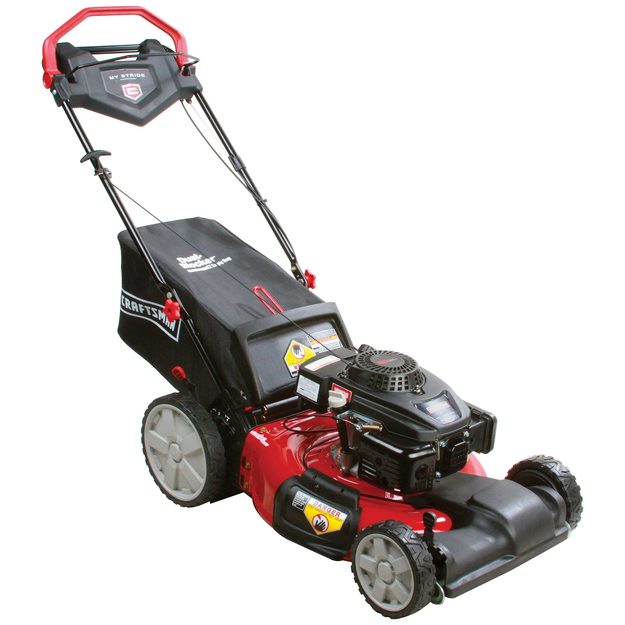 Lawn Mower Craftsman 159cc My Stride Front Wheel Drive Mower Lawn