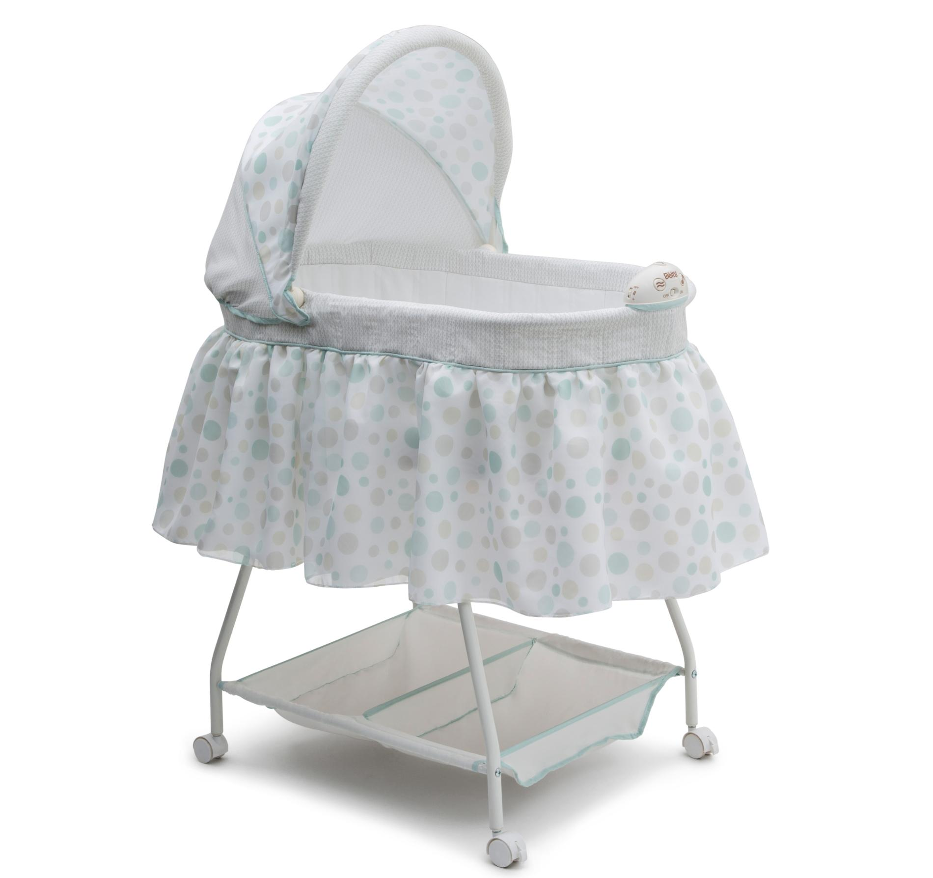 Baby Mattress Kmart Check Out Delta Children Infant S Sweet Beginnings Bassinet Dots Shopyourway