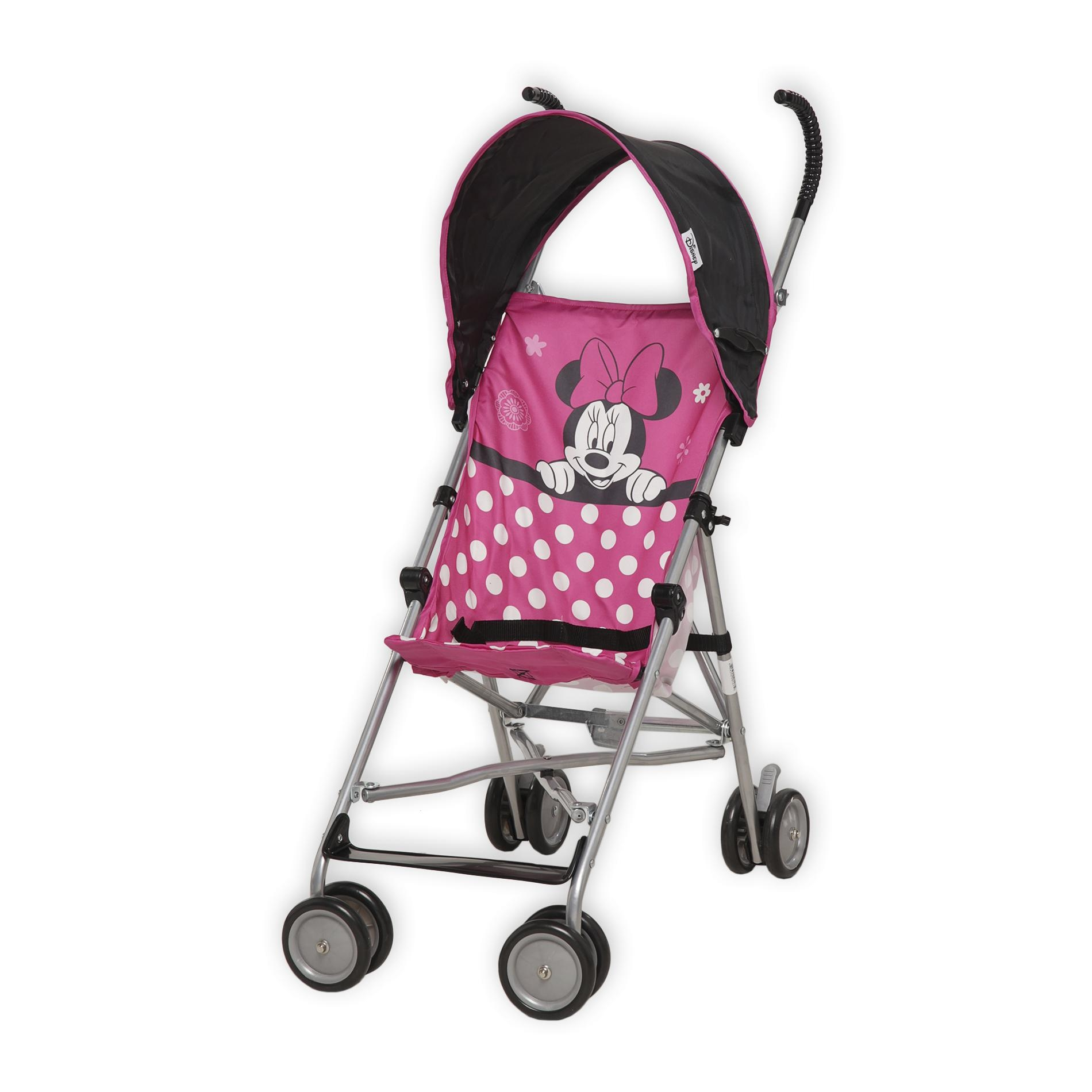 Minnie Mouse Infant Car Seat And Stroller Disney Umbrella Stroller Fly Away Minnie Shop Your Way