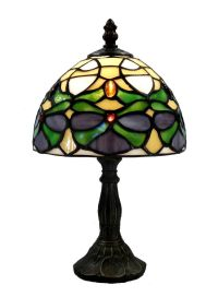 Warehouse of Tiffany Tiffany Style Jeweled Mini Lamp ...