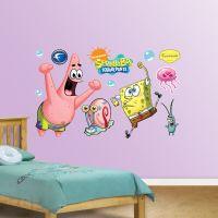 Large Spongebob Wall Stickers - spongebob wall decor ...