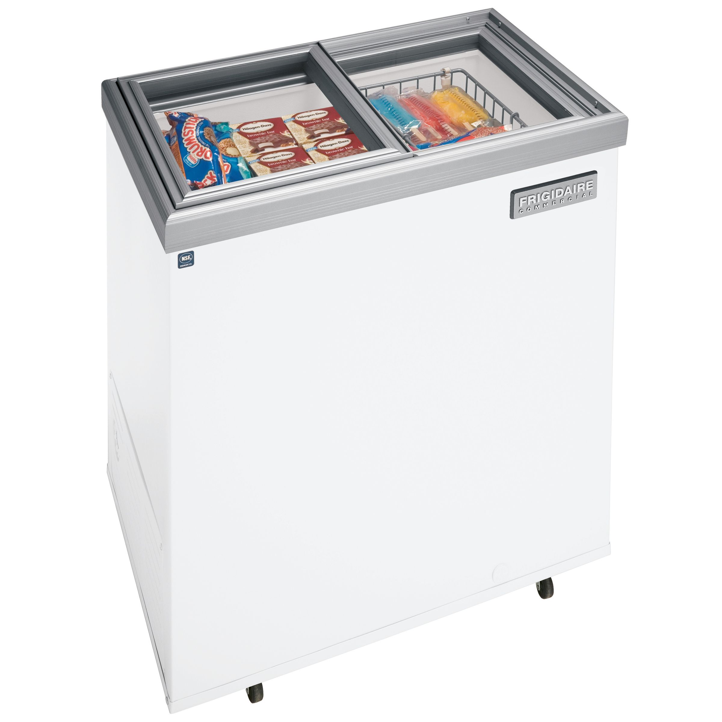 Kmart Freezer Frigidaire Fccg071fw 7 2 Cu Ft Ice Cream Freezer