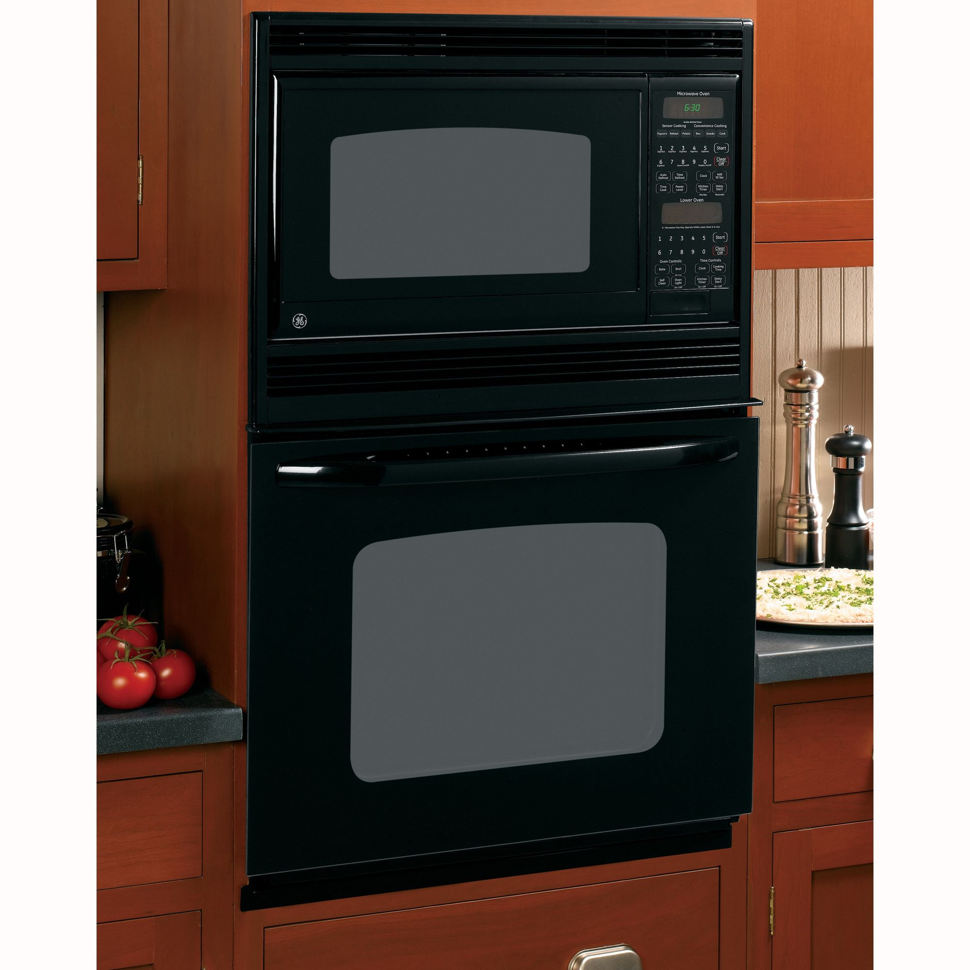 Big W Microwaves Ge 27 Built In Double Microwave Wall Oven Tado