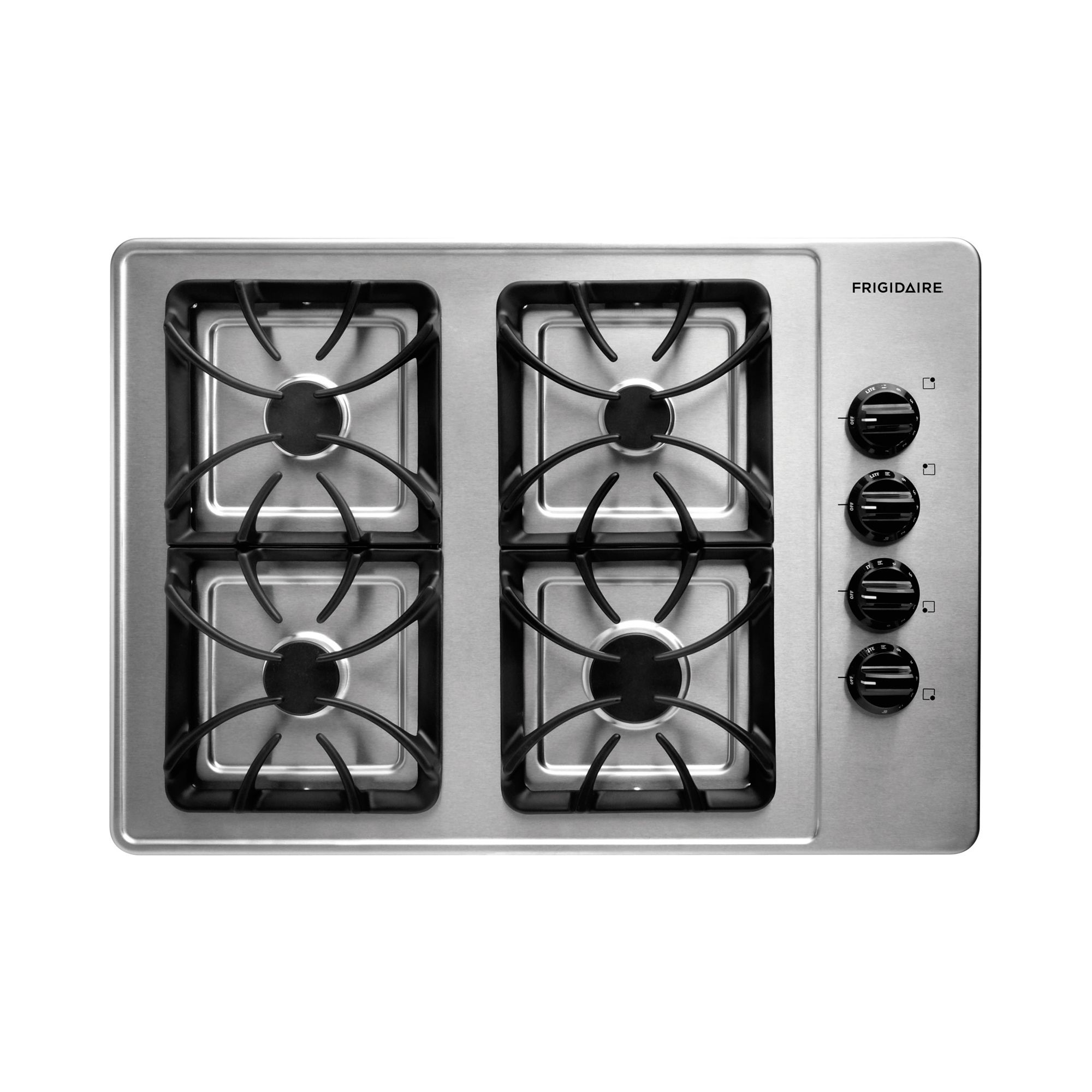 Cooktop Gas Stoves Frigidaire 30in Sealed Burner Gas Cooktop Range Stove