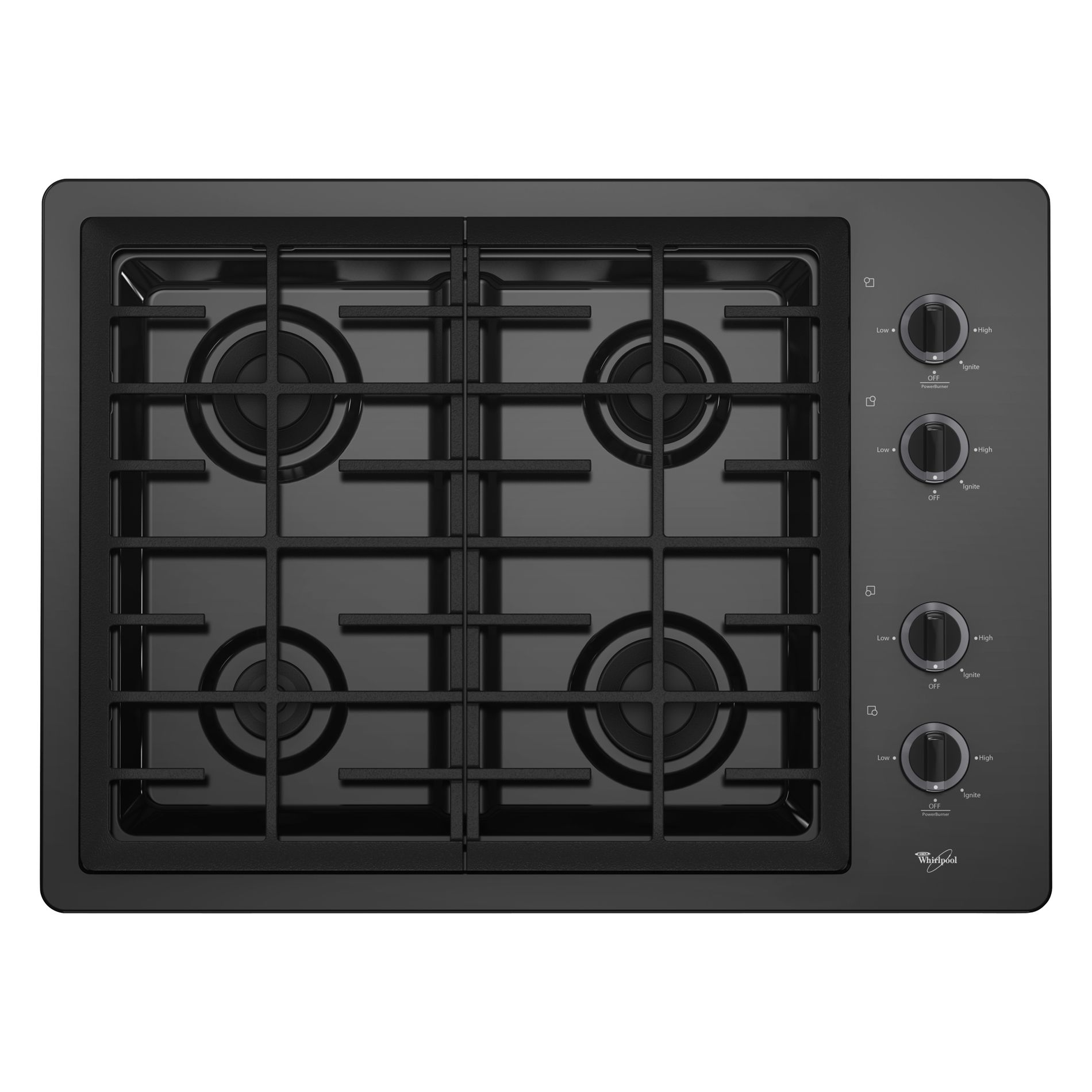 Gas Cooktop Installation Whirlpool W5cg3024xb 30 Quot Gas Cooktop