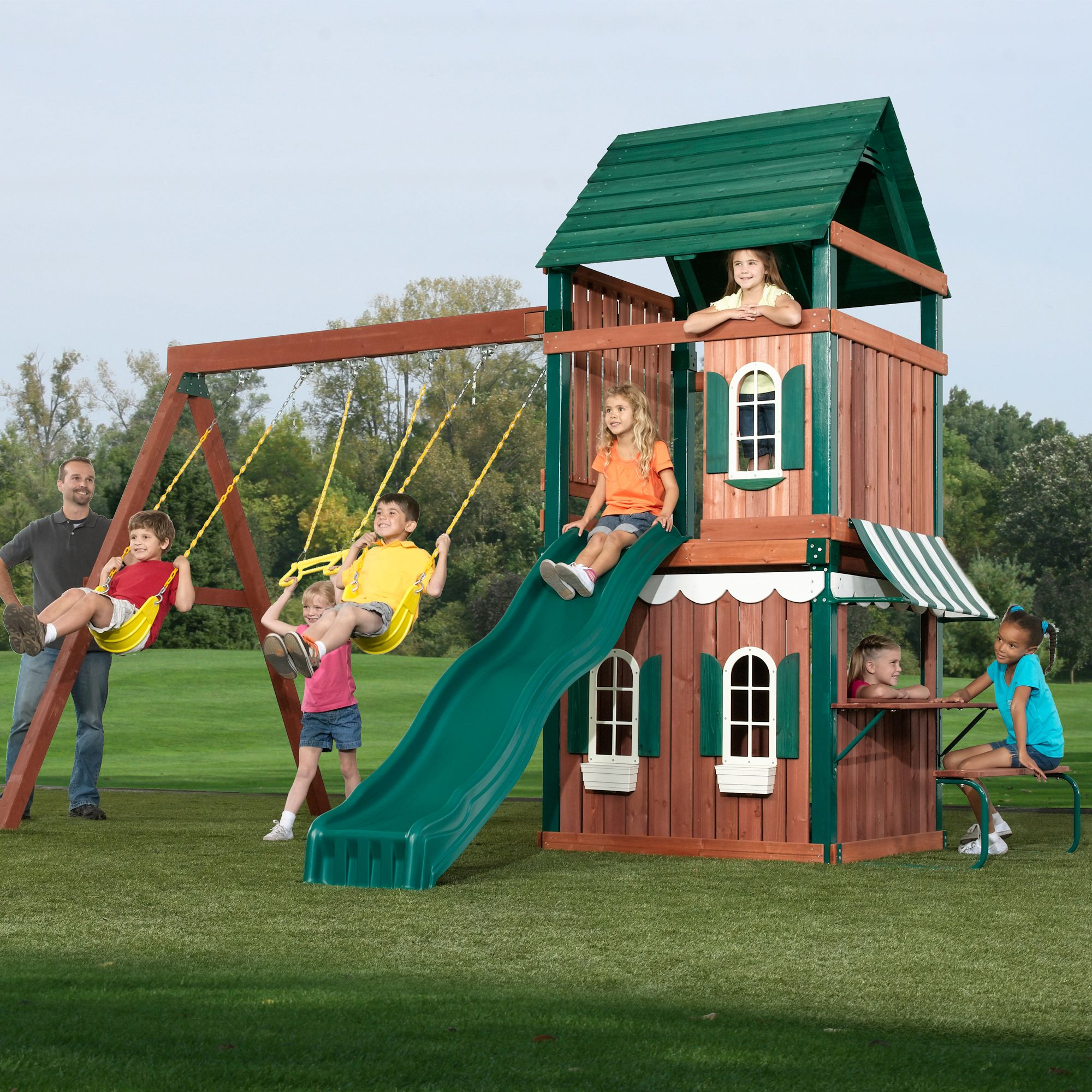 Buitenspeelgoed Schoolplein Swing N Slide Newport News Play Set Price Includes Shipping