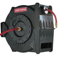 Craftsman Levelwind Air Hose Reel, Retractable 3/8 in. x ...