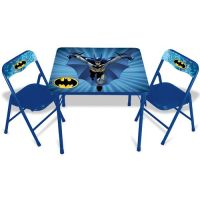 Batman Activity Table and Chairs Set at mygofer.com