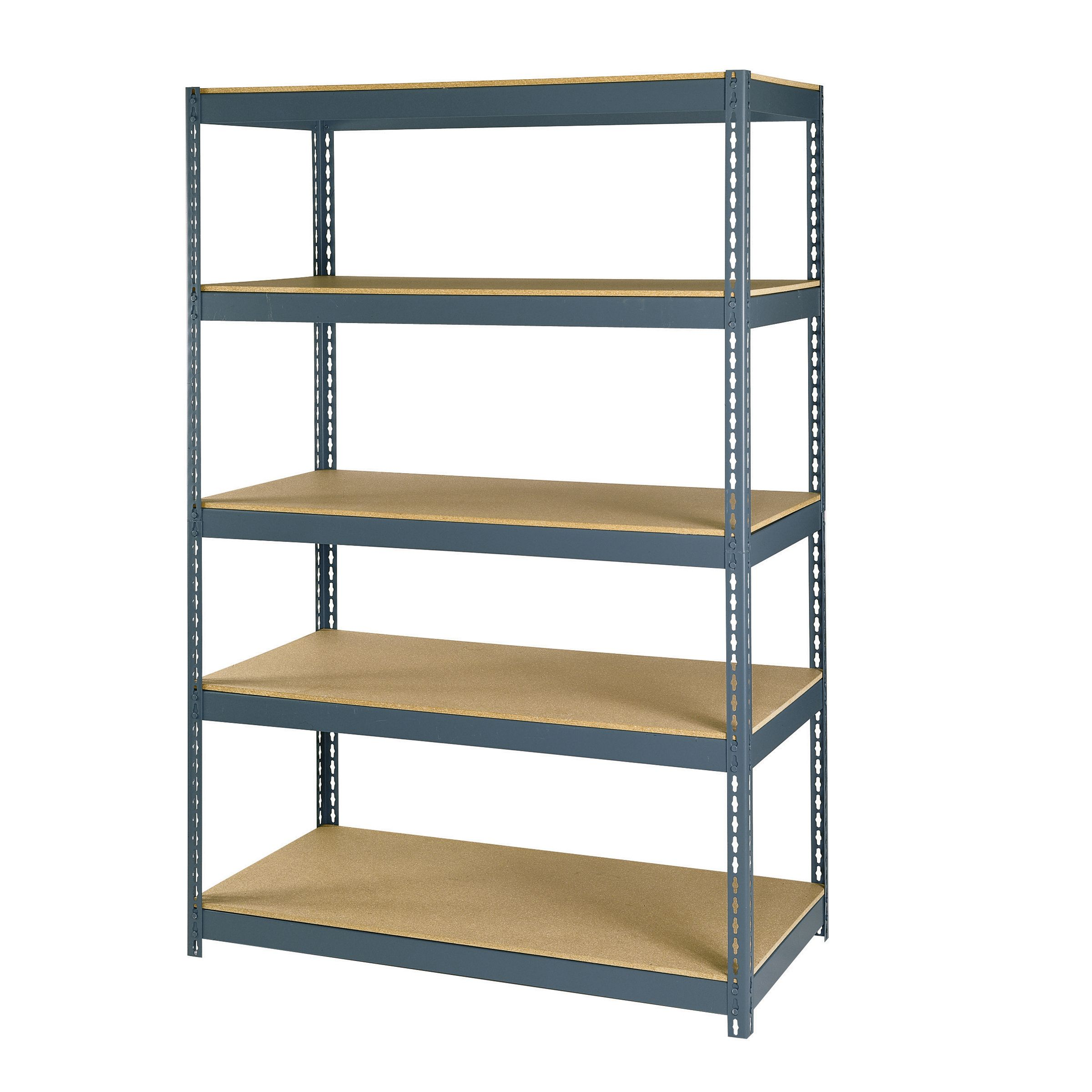 Gorilla Garage Racks Maxi Rack 72 Quot 5 Shelf Steel And Particleboard Storage Rack