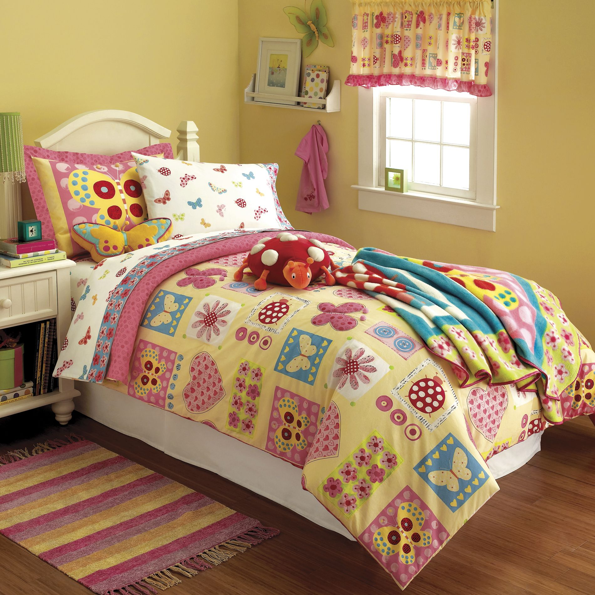 Butterfly Bedroom Themes Butterfly Bedding Totally Kids Totally Bedrooms Kids