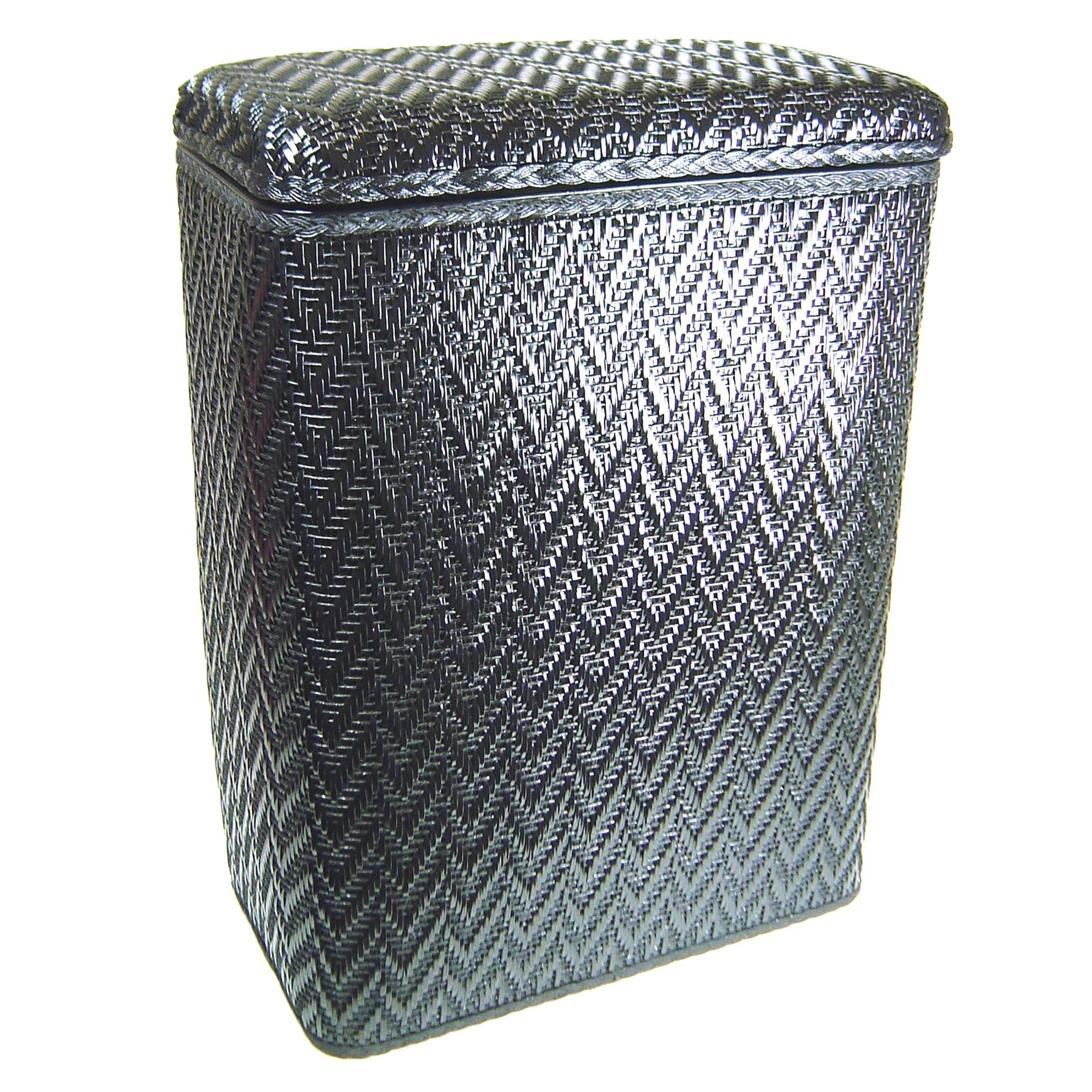 Elegant Laundry Hamper Redmon Elegante Hamper Black Home Furniture