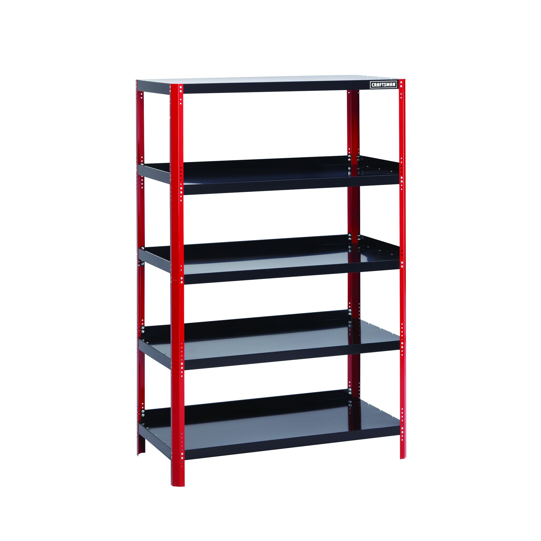 Gorilla Garage Racks Craftsman 48 Quot Wide Steel Shelving Unit Red Black