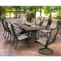 Agio International Panorama 9 Pc. Patio Dining Set | Shop ...