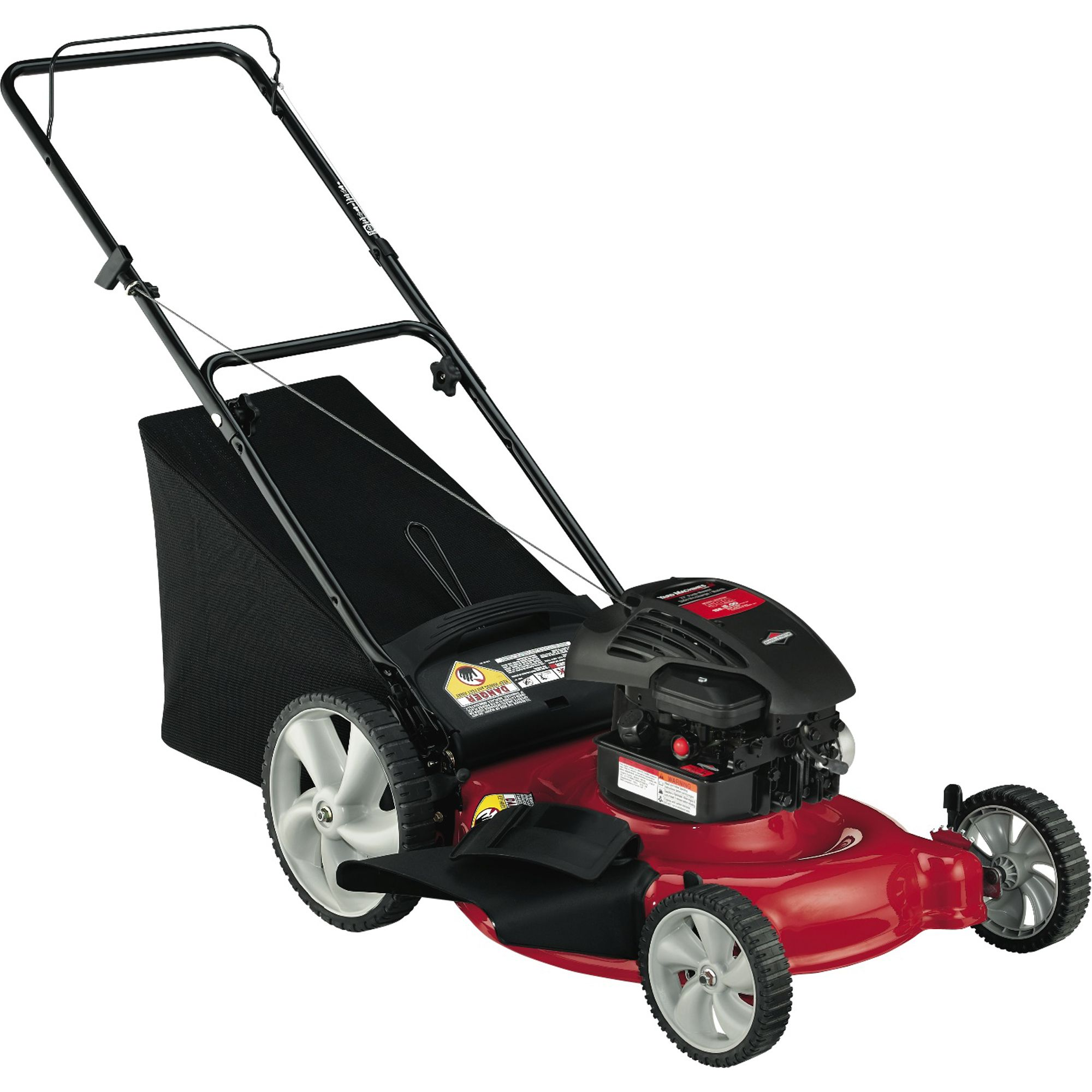 Yard Machine Lawn Mower Yard Machines 158cc 21 Quot Briggs And Stratton 3 In 1 High