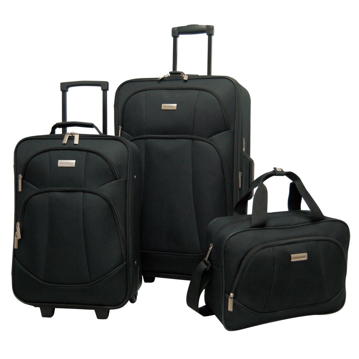 Travel Bag Kmart Forecast Fiji 3 Piece Luggage Set Travel Better With Sears