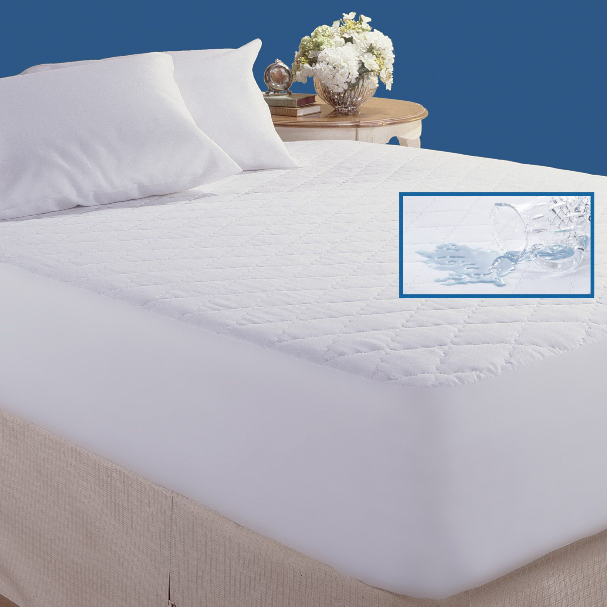 Super King Size Waterproof Mattress Protector Cannon Quilted Waterproof Mattress Pad