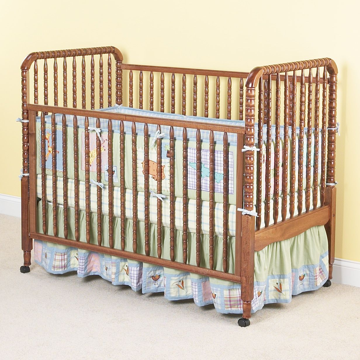 Evenflo Crib Jenny Lind Collection Maple