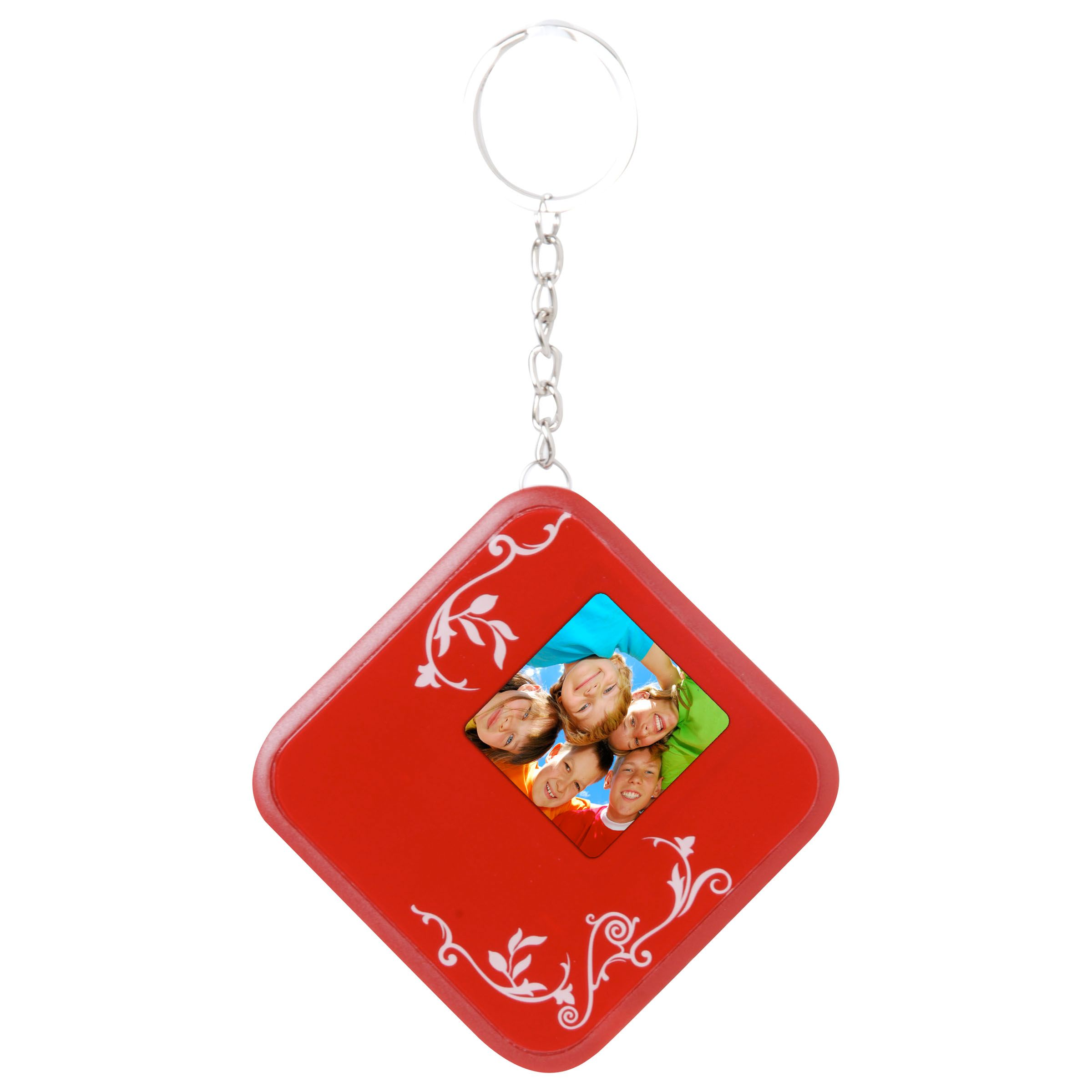 Kmart Digital Photo Frame Smartparts 1 5 In Digital Picture Frame Keychain Red